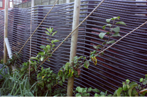 ground source heat fence supplying heating to the extension; 7 bedrooms, wet room, corridors, office, laundry