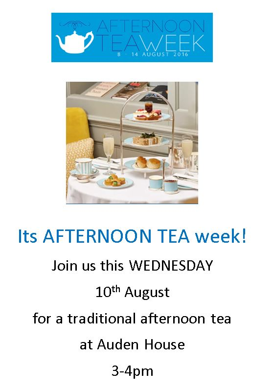 afternoon tea invite auden house