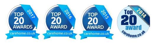 Top 20 care award 2017